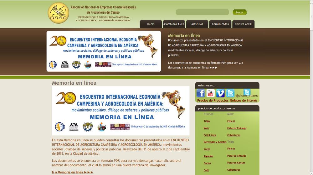 ANEC (Asociación Nacional de Empresas Comercializadoras de Productores del Campo)