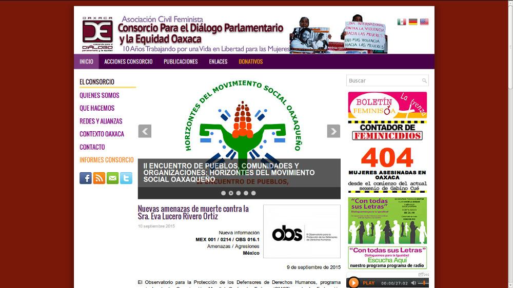 Consorcio para el Diálogo parlamentario y la equidad