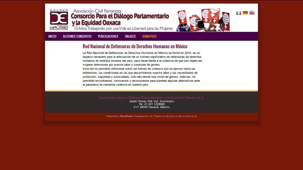 Red Nacional de Defensoras de Derechos Humanos en México