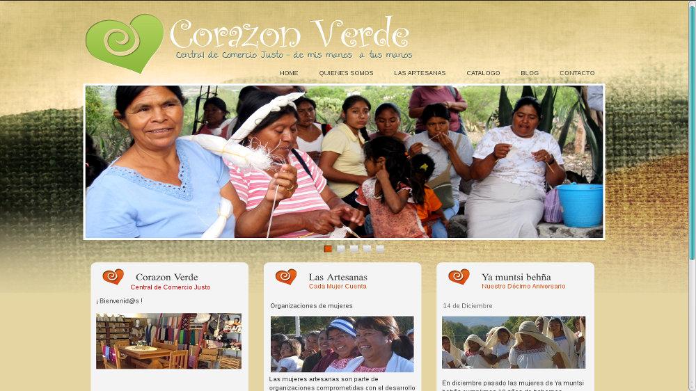 Corazón Verde, Central de Comercio Justo